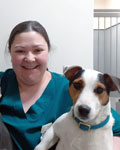 Michelle Kirk, practice manager at Towy Vets